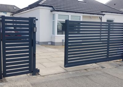 Entrance and driveway gates